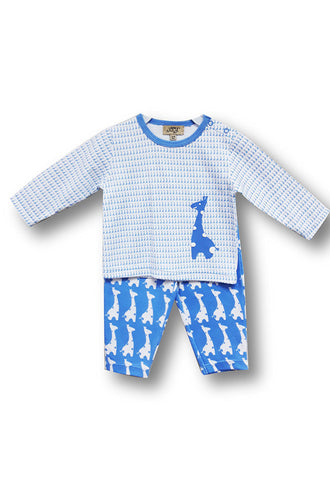 Le Top Baby 2pc Set, Blue