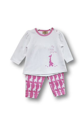 Le Top Baby 2pc Set, Pink