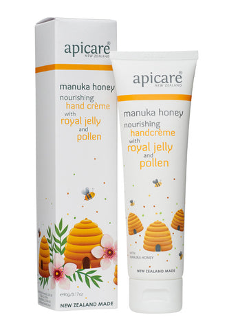 Apicare Manuka Honey HandCrème, 90g