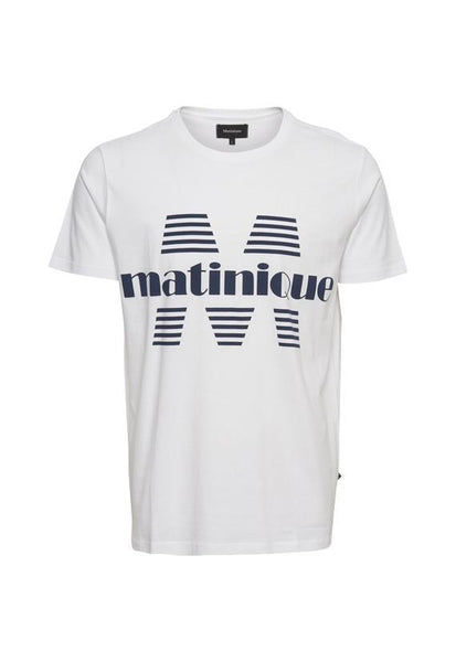Matinique Jermane Short Sleeve T-Shirt, White