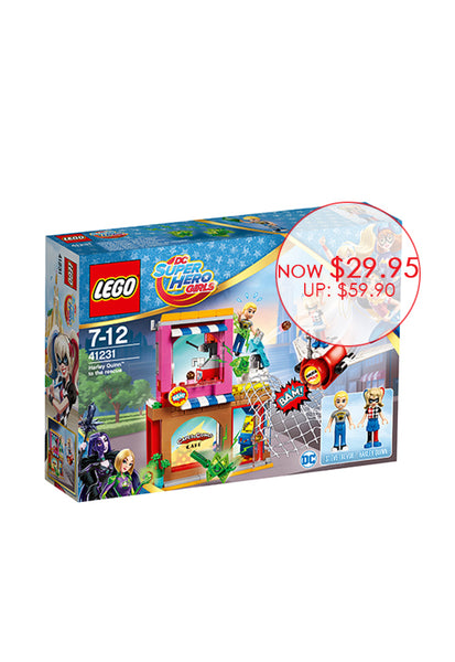 LEGO® DC Super Hero Girls™ Harley Quinn™ to the rescue 41231