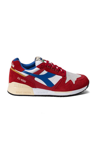 Diadora I.C 4000 PREMIUM, Pompeian Red/Nautical Blue/Vanilla