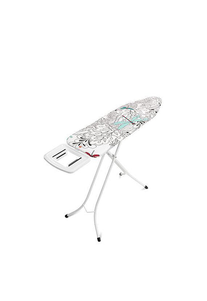 Brabantia Size C Ironing Board w/Solid Steam Iron Rest Ivory- Dragonfly