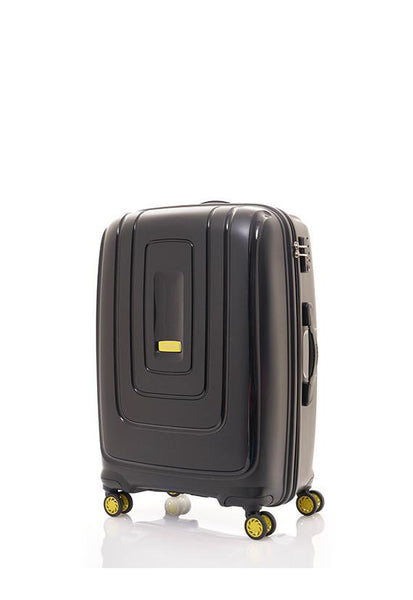 American Tourister Lightrax Spinner with TSA, Black