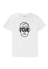 French Connection Graphic Tee, White