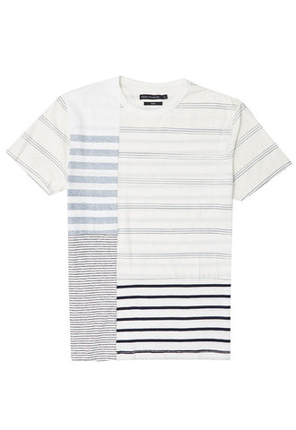 French Connection Jersey Striped T-Shirt