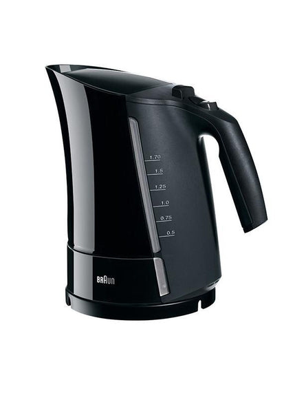 Braun Water kettle 1.7L, Onyx