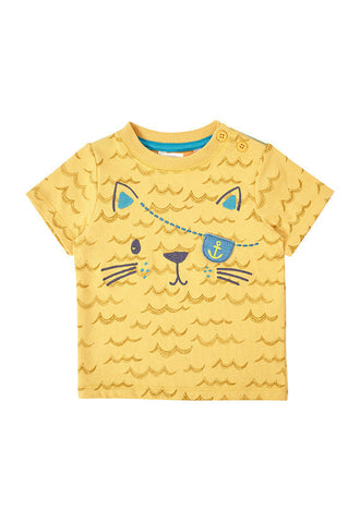 John Lewis Baby Pirate Cat T-Shirt