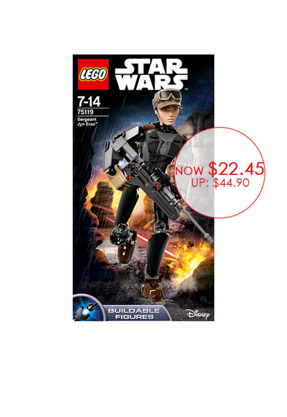LEGO® Star Wars™ Constraction Sergeant Jyn Erso™ 75119