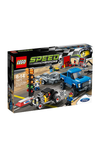 LEGO® Super Champions Ford F-150 Raptor & Ford Model A Hot Rod 75875