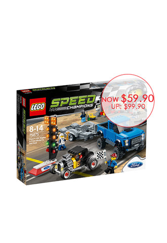 LEGO® Speed Champions Ford F-150 Raptor & Ford Model A Hot Rod 75875