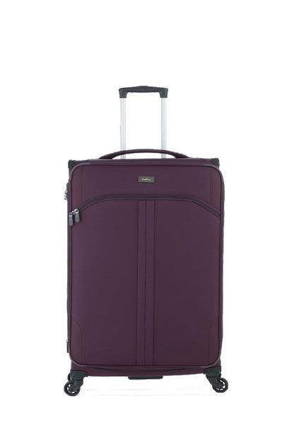 Antler Aire 4 Wheels Softcase Luggage, Aubergine