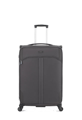 Antler Aire 4 Wheels Softcase Luggage, Grey