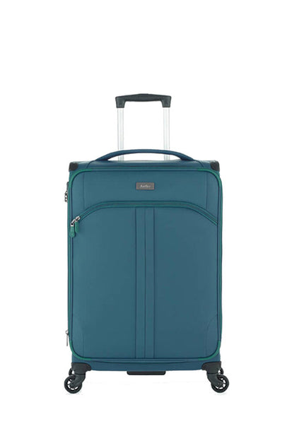 Antler Aire 4 Wheels Softcase Luggage, Teal