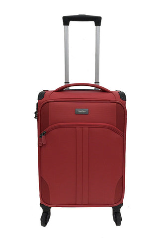 Antler Aire 4 Wheels Softcase Luggage, Tomato