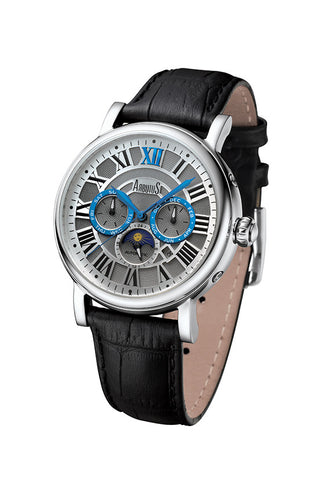 Arbutus 912SWB Multi-function Watch, Sliver