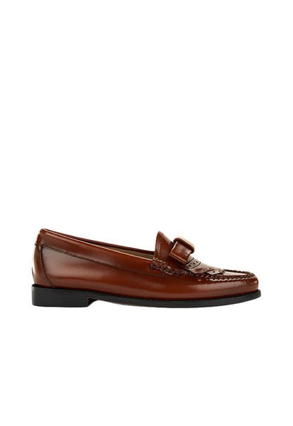 G.H Bass Esther Bow Loafer, Cognac