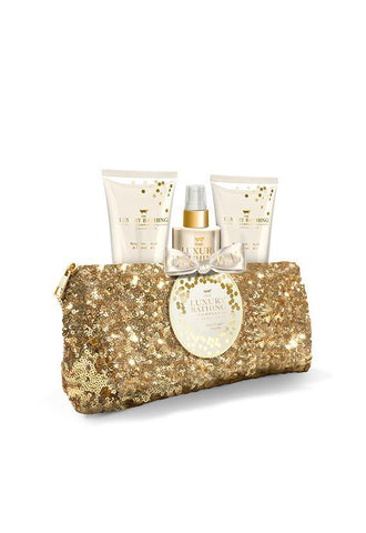 Grace Cole Bergamot, Ginger and Lemongrass, Glitterati Body Set