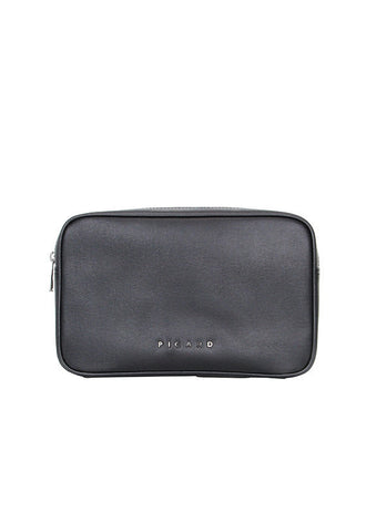 Picard Bravo 1210 Leather Clutch Bag, Black