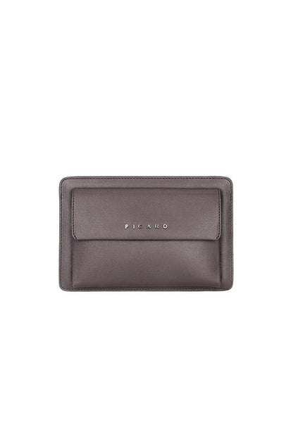 Picard Bravo 1209 Leather Clutch Bag, Café