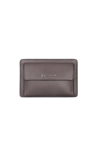 Picard Bravo 1209 Leather Clutch Bag, Cafe