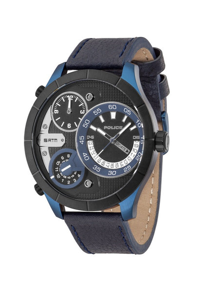 Police The Bush Master Watch, Blue