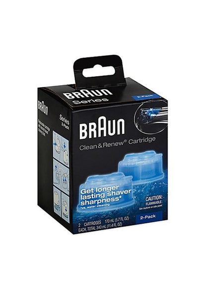 Braun Clean & Renew Refills 2 Cartridges