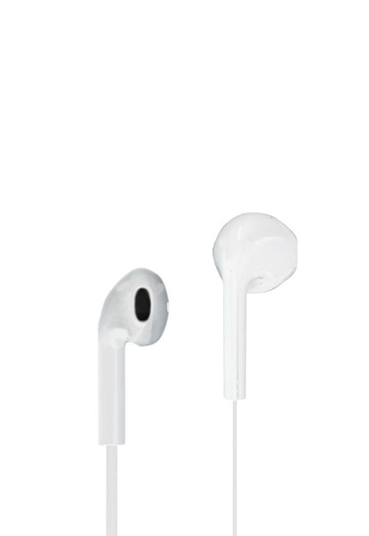 Nakamichi Inear Earphones With Microphone, White