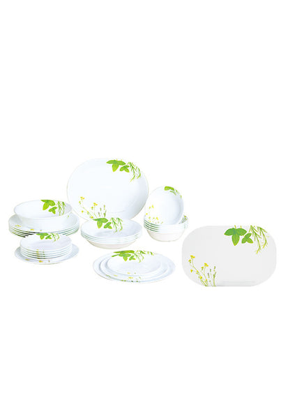 Corelle 26pc Dinner Set With Free 4Pc Placemats (Worth $20)