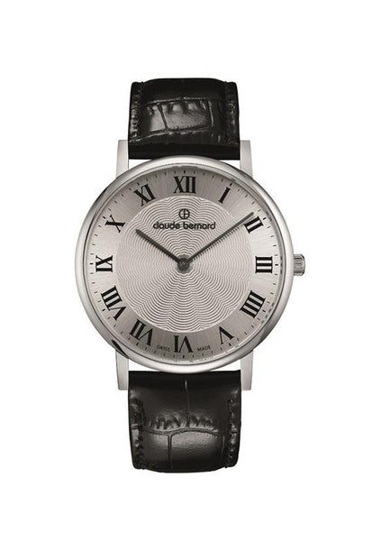 Claude Bernard 20214-3-AR Sophisticated Classic Slim Watch