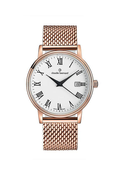Claude Bernard 53007-37RM-BR Sophisticated Classic Watch
