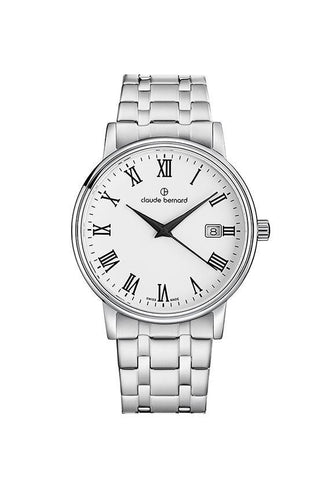 Claude Bernard 53007-3M-BR Sophisticated Classic Watch