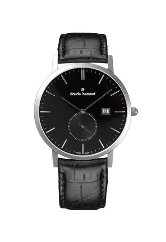 Claude Bernard 65003 -3 - NIN Sophisticated Classic Small Seconds Watch
