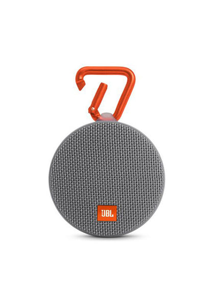 JBL Clip 2 Portable Speaker, Grey