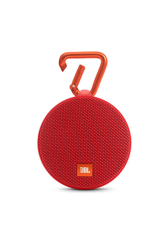 JBL Clip 2 Portable Speaker, Red