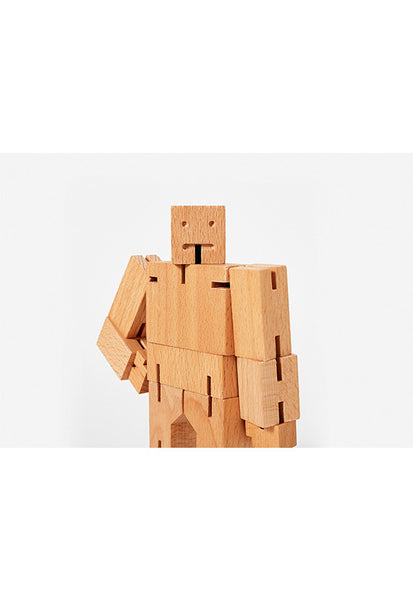 Areaware Cubebot®, Wood