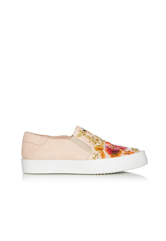 Dune Espyy Embroidery Slip On, Blush