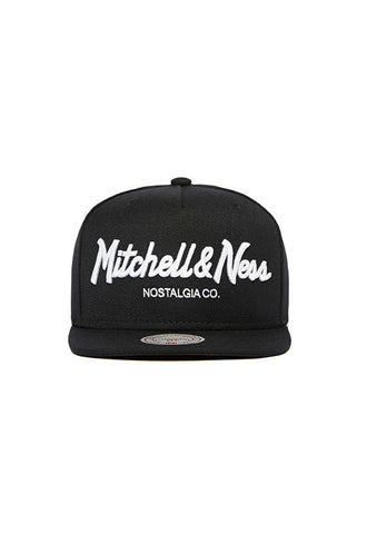 Mitchell & Ness Pinscript, <br/>Black