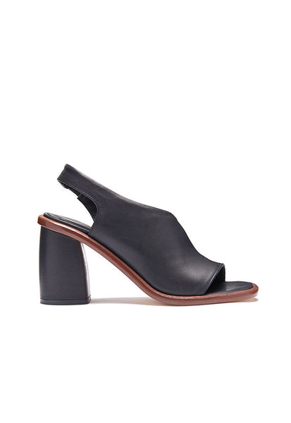 Miista Elizabeth Cut Out Heels, Black
