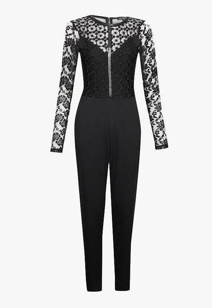 French Connection Hannah Beau Long Sleeved Jumpsuit