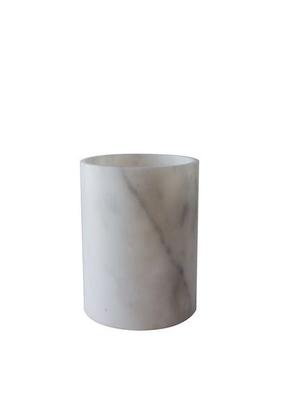 Robinsons Grey Marble Collection, Small Cylinder Vase