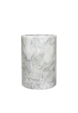 Robinsons Grey Marble Collection, Med Cylinder Vase