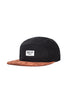 Brixton Hoover 5 Panel Cap, <br/>Black