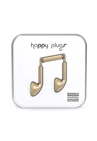 Happy Plugs Earbud, Champagne