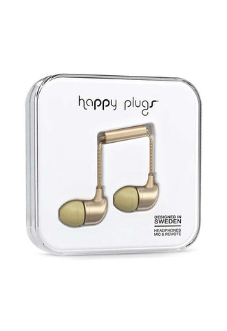 Happy Plugs In-Ear Earbud, Champagne