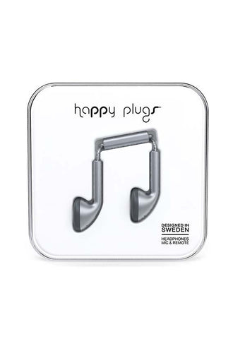 Happy Plugs Earbud, Space Grey