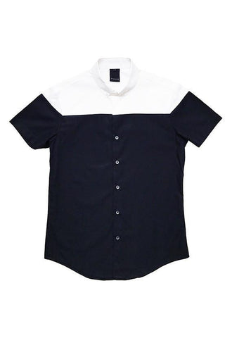 Evenodd Half Half Shirt