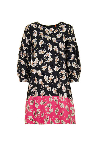 Imperial Fashion 2 Tone Floral Dress