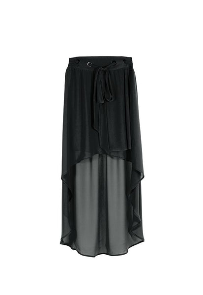 Imperial Fashion High Low Chiffon Skirt