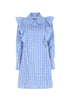 Imperial Fashion Ruffles Shirt Dress